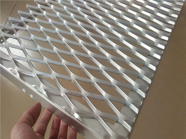 aluminum expanded metal mesh in china