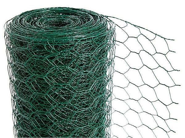 Pvc Coated Hexagonal Wire Mesh